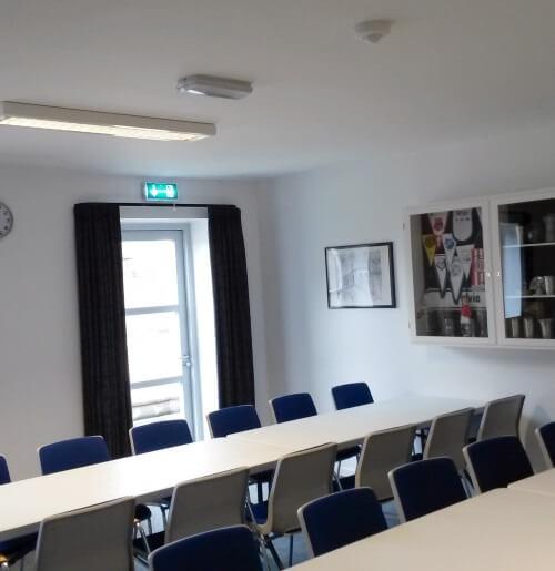 Mødelokalet m. tekøkken